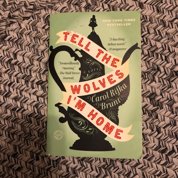 Tell the wolves I'm home book by carol rifka brunt